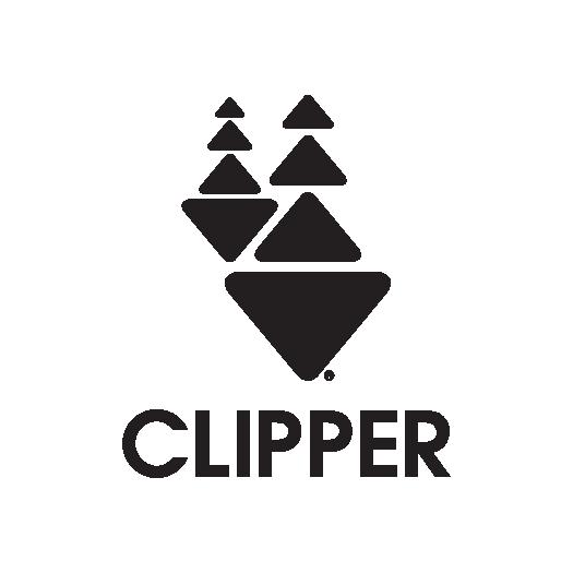 Black stacked logo